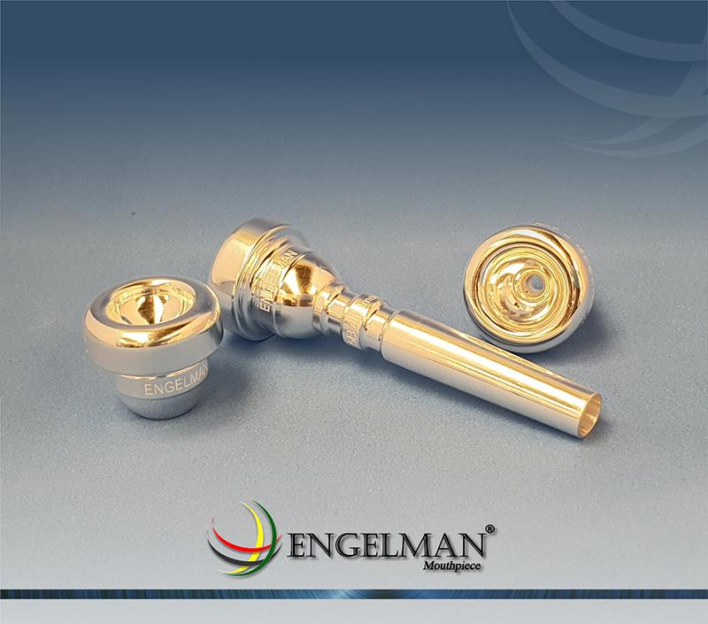 Bocal de rosca com taça em prata sem anilha - Standard